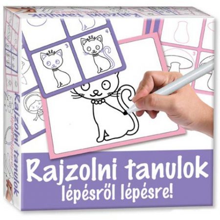 Rajzolni tanulok lépésről lépésre - cica