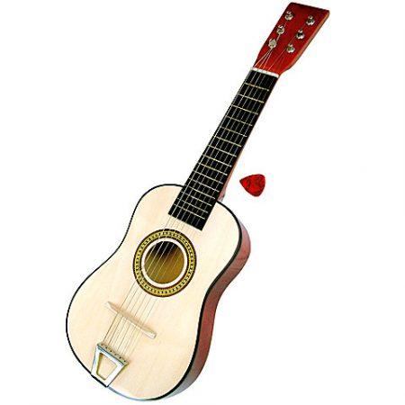 Klasszikus fa 6 húros gitár