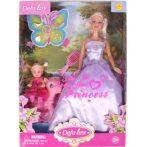 Defa Lucy hercegnő baba három ruhával - 30 cm, többféle