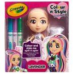 Crayola színezhető divatbaba