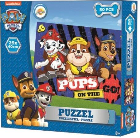 Puzzle 50 db-os Paw Patrol, Mancs Őrjárat