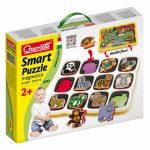 Vadállatos mágneses puzzle 12db-os