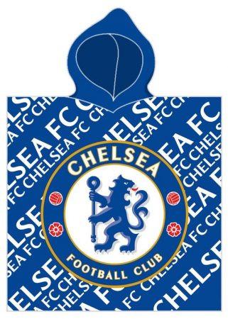 Chelsea FC törölköző poncsó 60*120cm