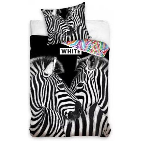 Zebra ágyneműhuzat 140×200cm, 70×90 cm