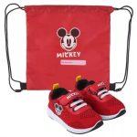 Disney Mickey utcai cipő tornazsákkal 21-27