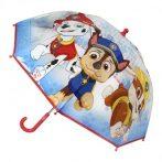 Mancs Őrjárat Gyerek átlátszó esernyő Ø66 cm