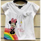 Disney Minnie gyerek rövid póló, felső 3-8 év
