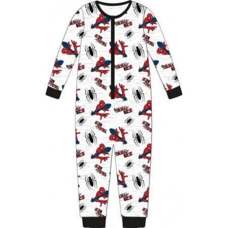 Pókember gyerek hosszú pizsama, overál 110-128 cm