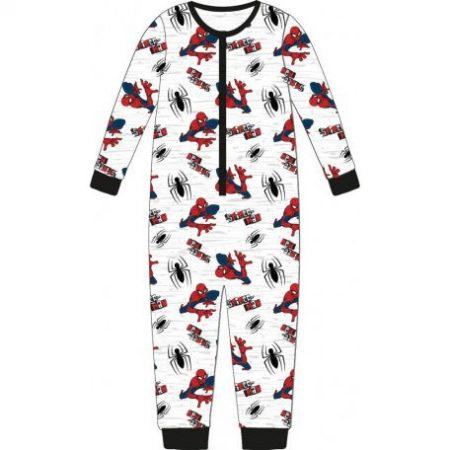 Pókember gyerek hosszú pizsama, overál 110-116cm