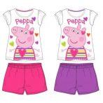 Peppa malac gyerek rövid ujjú pizsama 92-122 cm