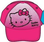 Hello Kitty gyerek baseball sapka 52-54cm