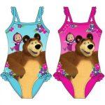 Gyerek fürdőruha, úszó Mása és a medve 98-128cm