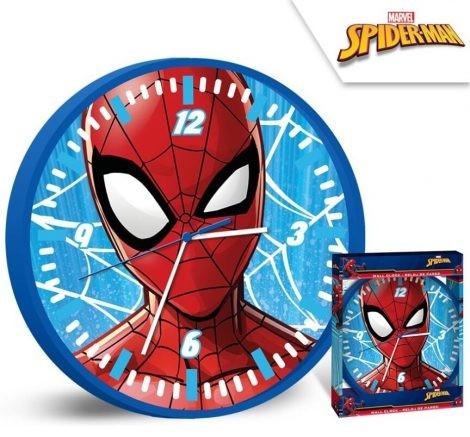 Falióra Pókember, Spiderman 25cm  Díszdobozban!