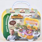Nagy dinoszauruszos szett kofferben