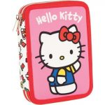 Hello Kitty tolltartó töltött 2 emeletes