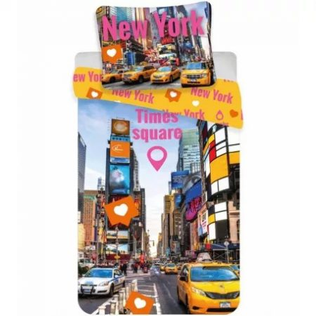 Times Square ágyneműhuzat 140×200cm, 70×90 cm