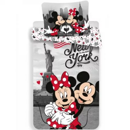 Disney Minnie New York ágyneműhuzat 140×200cm, 70×90 cm