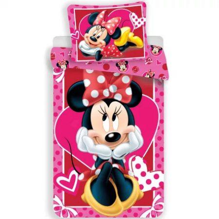 Disney Minnie ágyneműhuzat 140×200cm, 70×90 cm