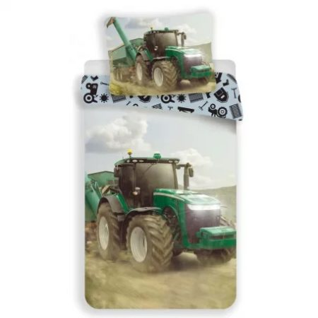 Tractor, Traktor ágyneműhuzat 140×200cm, 70×90 cm