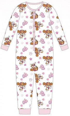 Mancs őrjárat  gyerek hosszú pizsama, overál 98-104 cm