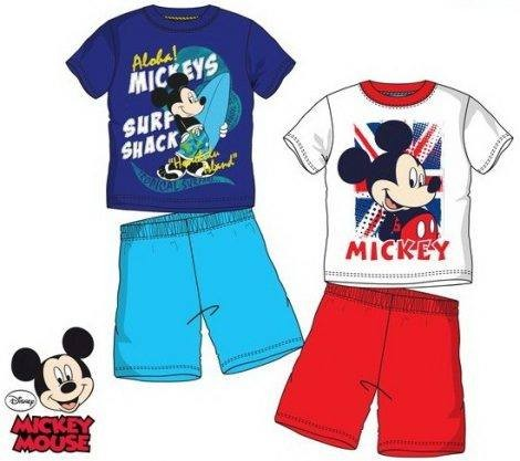 Gyerek pizsama Disney Mickey 3-8 év
