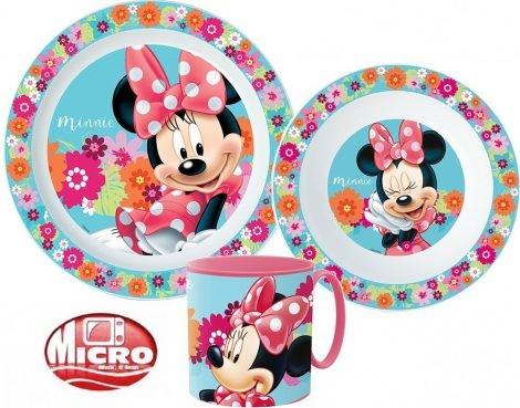 Étkészlet, micro műanyag szett Disney Minnie