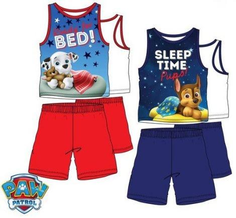 Mancs Őrjárat Gyerek rövid pizsama 3-6 év