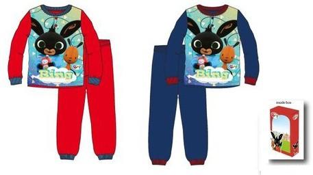 Bing gyerek hosszú pizsama Díszdobozban 6év kék