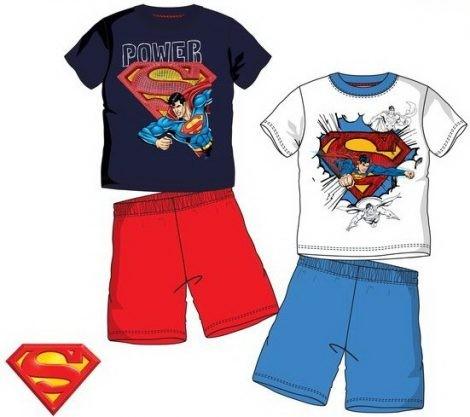Gyerek rövid ujjú pizsama Superman 3-8 év