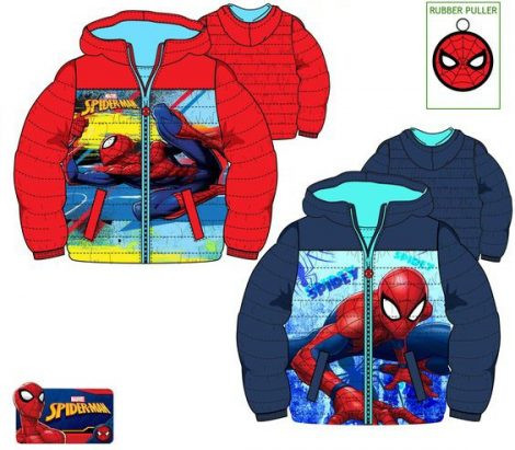 Pókember gyerek bélelt kabát 3év
