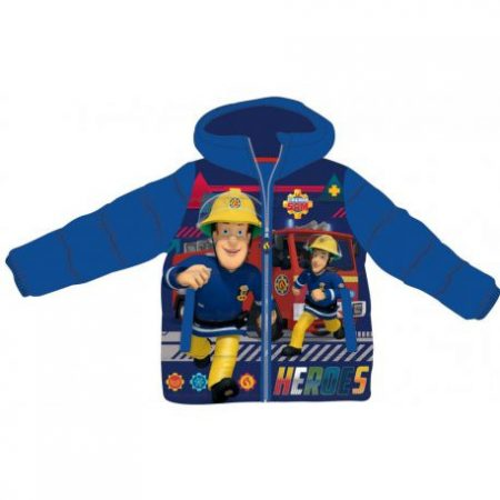 Sam a tűzoltó gyerek bélelt kabát 3-8 év