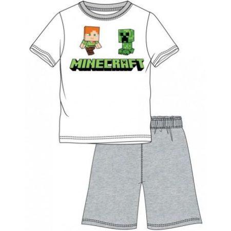 Minecraft gyerek rövid pizsama 4-12 év