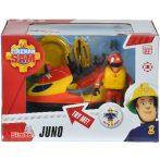 Sam, a tűzoltó: Juno jetski Elvis figurával, kiegészítőkkel
