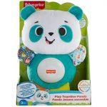 Fisher játékos panda-Mattel