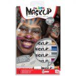 MaskUp Metallic 6db-os arcfestő szett
