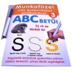 ABC betűi gyakorló munkafüzet