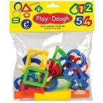 Play Dough Számok, formák és nyújtóhenger