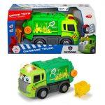 Happy Scania szemetes autó fénnyel és hanggal-25 cm